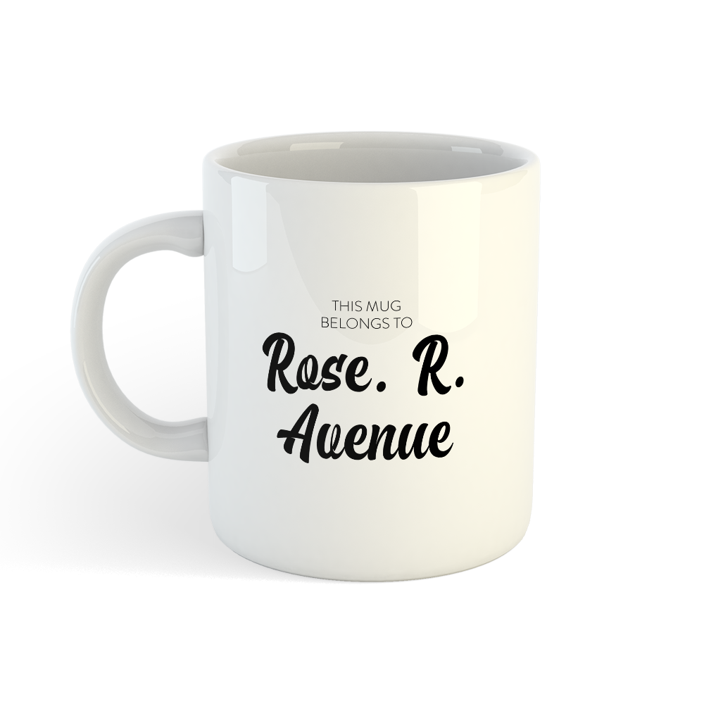 Picture of Gsy Mug - Rose R Avenue