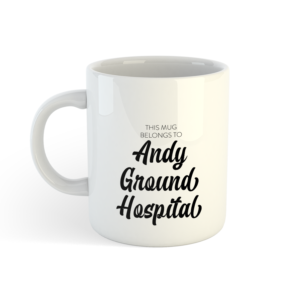 Picture of Gsy Mug - Andy Ground Hospital
